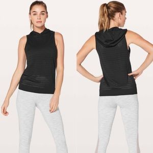 Lululemon Breeze By Hooded Tank Squad